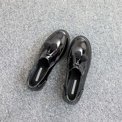VIVIER - Buckle-Trim Loafers