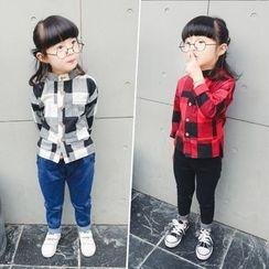 Matatabi - Long-Sleeve Plaid Shirt
