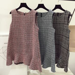 DIYI - Tweed Tank Dress