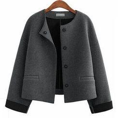 Fashion Street - Plain Wool Jacket