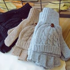 Lose Show - Two-Way Knit Gloves