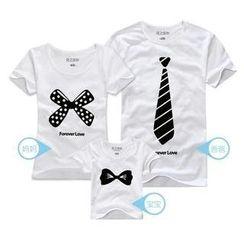 Love Affairs - Short-Sleeve Printed Family T-Shirt (Couple)
