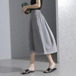 Sonne - A-Line Midi Skirt