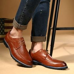 Hipsteria - Genuine Leather Brogue Oxfords