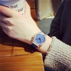 Honey Bee - 亮面帶式手錶