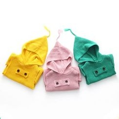 Seashells Kids - Kids Hooded Knit Vest