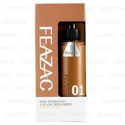 FEAZAC - Semi-Permanent Color Treatment (#01 Chestnut)