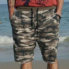 Mannmix - Camouflage Shorts