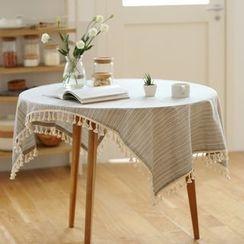 Lazy Corner - Tasseled Table Cloth