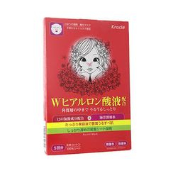 Kracie - Kracie Concentrated Moisture Mask (Hyaluronic) (Red Box)