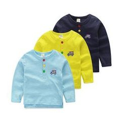 WellKids - Kids Long-Sleeve Embroidered Top