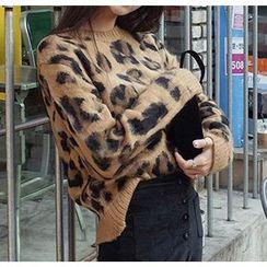 Isadora - Leopard Print Sweater