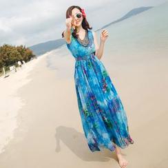 NINETTE - 印花沙滩裙