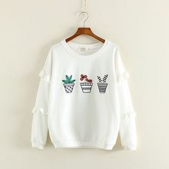 Mushi - Printed Sweatshirt