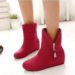 TULASI - Hidden Wedge Short Boots