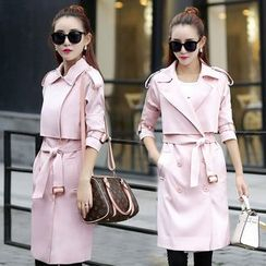 Romantica - Layered Trench Coat