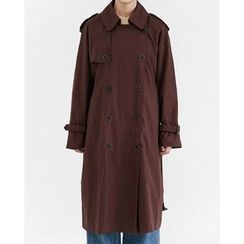 Someday, if - Double-Breasted Trench Coat with Belt