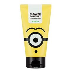 Missha - Minions Edition : Flower Bouquet Cleansing Foam (May lily) 120ml