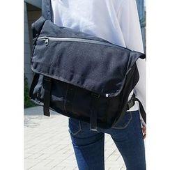 JOGUNSHOP - Flap Messenger Bag