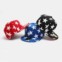 BOOMSTYLE - Star Print Baseball Cap