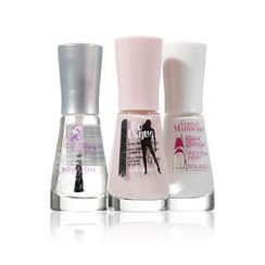 Bourjois - French Manicure Set (91 French Blance Glamour)