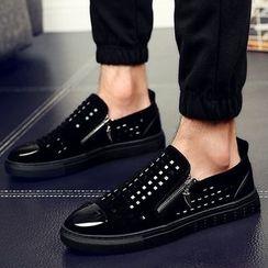WeWolf - Cutout Zip Sneakers