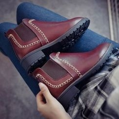 Laceuplux - Gusset Ankle Boots