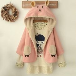 Angel Love - Rabbit Ear Hooded Cape