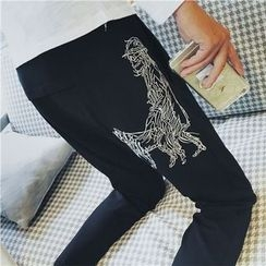 Chuoku - Printed Sweatpants