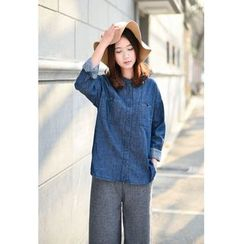 Yammi - Denim Long-Sleeve Shirt