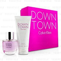 Calvin Klein 卡爾文克來恩 - Downtown Coffret: Eau De Parfum Spray 90ml/3oz + Body Lotion 200ml/6.7oz (Pink Box)