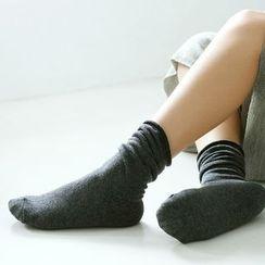 LA SHOP - Plain Socks