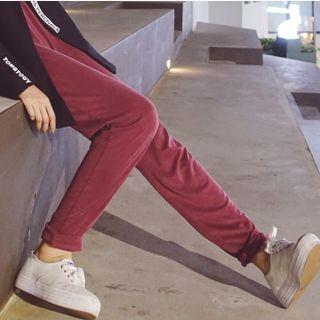 COMON - Corduroy Straight-Cut Pants