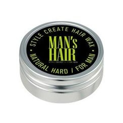 The Flower Men - Energy Factory Style Create Hair Wax - Natural Hard
