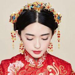 Miss Diva - 蝴蝶髮箍 / 髮簪