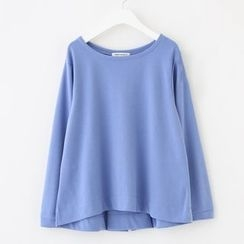 Meimei - Long-Sleeve Crewneck Top