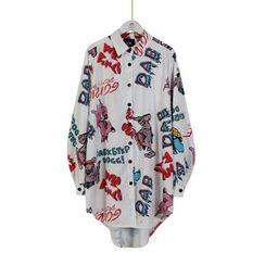Momewear - 印花长衬衫