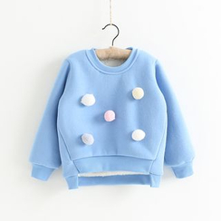 Cuckoo - Kids Ball Accent Sweatshirt