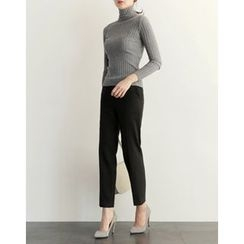 UPTOWNHOLIC - Fleece-Lined Dress Pants