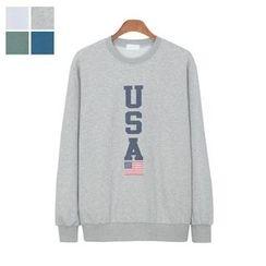 DANGOON - Lettering Sweatshirt