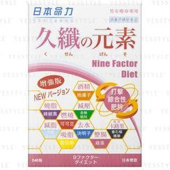 Meiriki JP - Nine Factor Diet