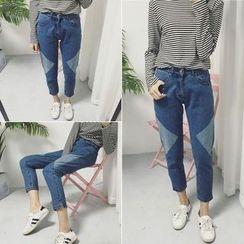 RASA - Cropped Harem Jeans