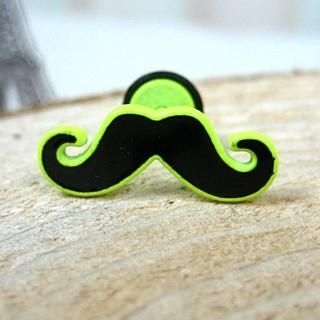 OWL Fashion - Neon Mustache Single Earring