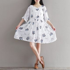 Splashmix - Floral Chiffon Dress
