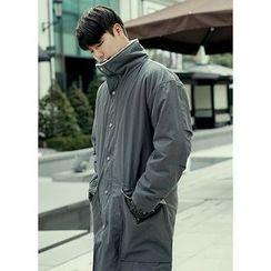 JOGUNSHOP - Faux-Fur Lined Coat
