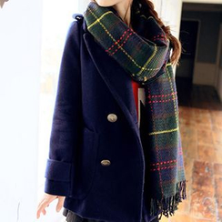 Rita Zita - 格紋冬天圍巾