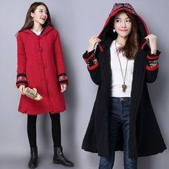 chic n' fab - Hooded Long Padded Coat