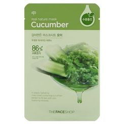 The Face Shop - Real Nature Cucumber Mask Sheet