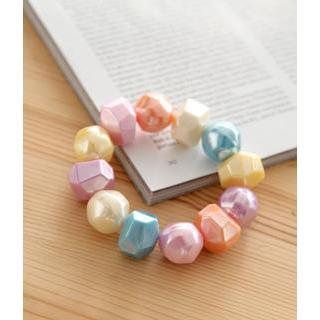 Petit et Belle - Chunky Multicolored Elastic Bracelet