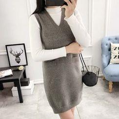 LOFT - Plain Knit Tank Dress